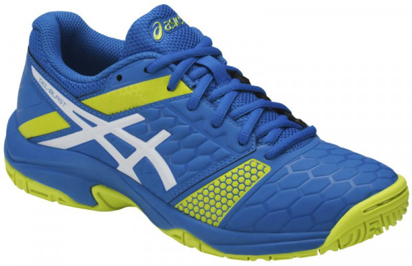 Buty do squasha Asics Gel-Blast 7 GS - directoire blue/energy green/white