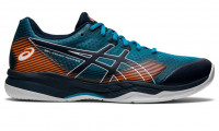 Męskie buty do squasha Asics Gel-Court Hunter 2 - teal blue/french blue