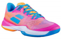 Damskie buty tenisowe Babolat Jet Mach 3 All Court Women - hot pink
