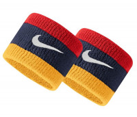 Nike Swoosh Wristbands - midnight navy/university red/university gold