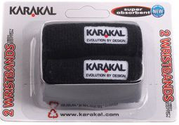 Riešo apvijos Karakal Wristbands - black