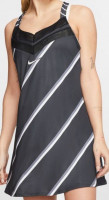 Damska sukienka tenisowa Nike Court Dress PS NT - black/white/black