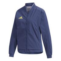 Teniso bluzonai moterims Adidas Women Streatch Woven Jacket - tech indigo