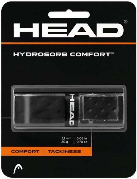 Owijki tenisowe bazowe Head Hydrosorb Comfort (1 szt.) - black