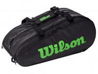 Tenis torba Wilson Tour 3 Comp - black/green