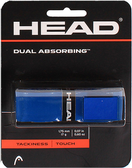 Tenisa pamatgripu Head Dual Absorbing blue 1P