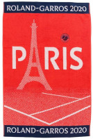 Ręcznik tenisowy Roland Garros Carreblanc Joueur Terre Battue - plażowy