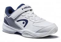 Teniso batai jaunimui Head Sprint Velcro 3.0 Junior - white/midnight navy