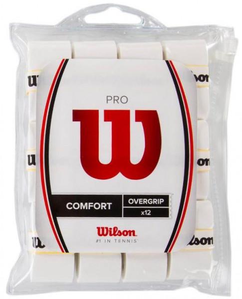 Owijki tenisowe Wilson Pro 12P - white