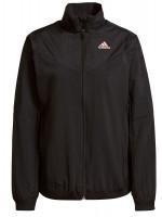 Ženski sportski pulover Adidas Warm Jacket W - black/ambient blush