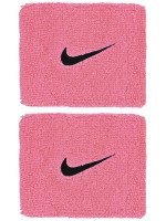 Riešo apvijos Nike Swoosh Wristbands - pink gaze/oil grey