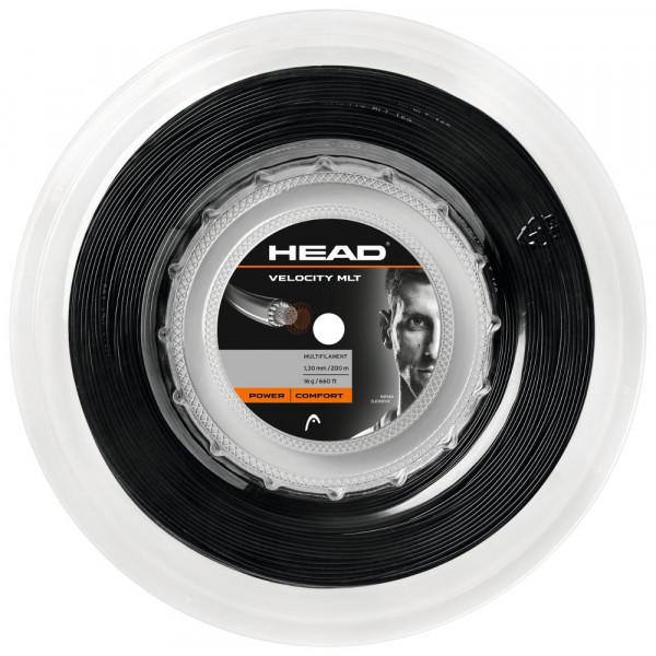 Naciąg tenisowy Head Velocity MLT (200 m) - black