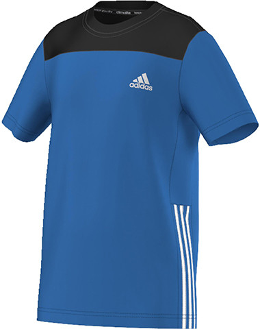 T-krekls zēniem Adidas Gear Up Tee - shock blue/white