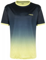 Muška majica NOX Camiseta Hombre Pro Degrade M - azul/lima