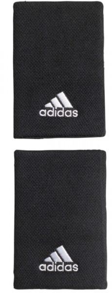 Aproces Adidas Tennis Wristband L (OSFM) - black/white