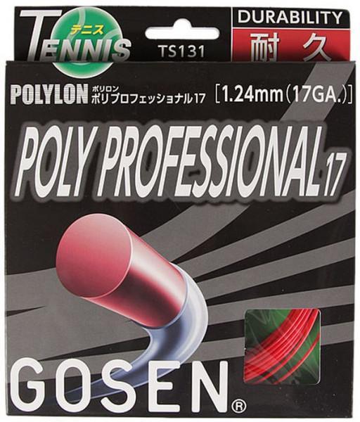 Teniso stygos Gosen Polylon Poly Professional (12.2 m) - red
