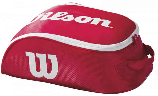 Wilson Tour IV Shoe Bag - red/white