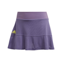 Teniso sijonas moterims Adidas Match Skirt Heat Ready - tech purple/shock yellow