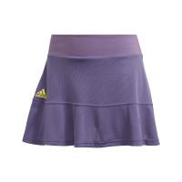 Damska spódniczka tenisowa Adidas Match Skirt Heat Ready - tech purple/shock yellow