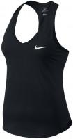 Damski top tenisowy Nike Pure Tank - black/white