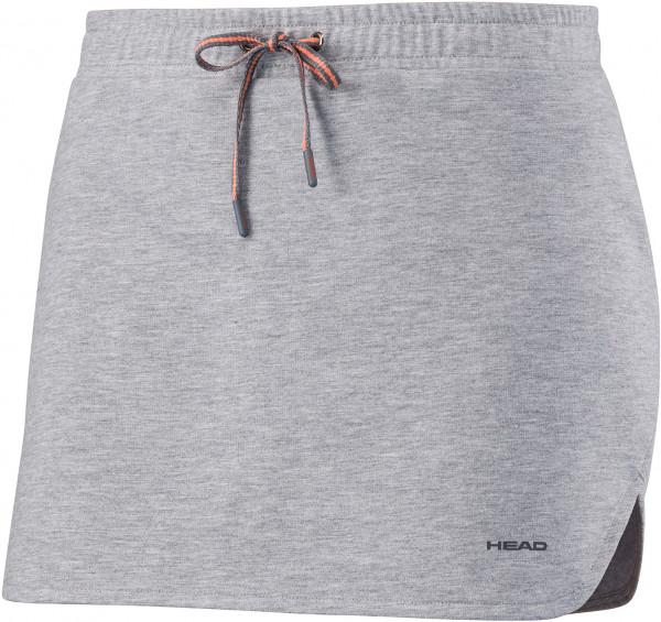 Head Transition Skirt W - grey melange