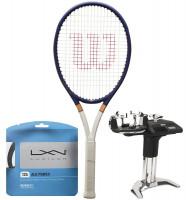 Rakieta tenisowa Wilson Ultra 100 Roland Garros 2021 + naciąg + usługa serwisowa
