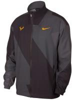 Męska bluza tenisowa Nike Court M Rafa Jacket - thunder grey/laser orange