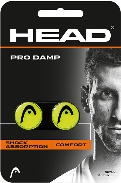 Vibration dampener Head Pro Damp - yellow