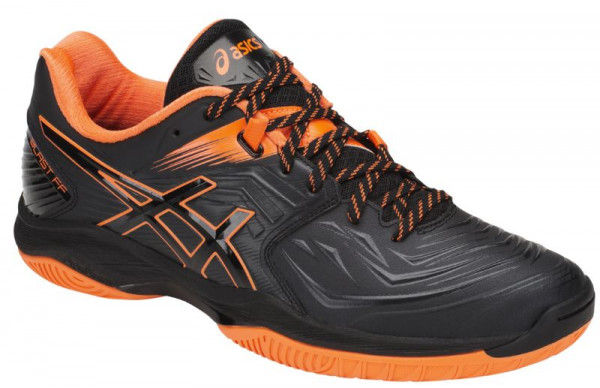 Buty do squasha Asics Blast FF - black/shocking orange
