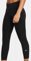 Antblauzdžiai Nike Dri-Fit One Mid-Rise CRP Tight W - black/white