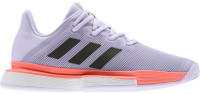 Adidas SoleMatch Bounce W - purple tint/core black/signal coral