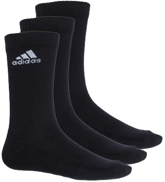 Socks Adidas 3S Performance Crew HC 3PP - 3 pary/black