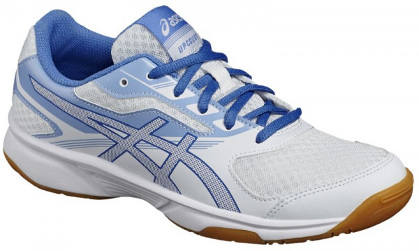 Skvošo avalynė moterims Asics UpCourt 2 - white/regatta blue/airly blue