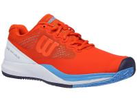 Męskie buty tenisowe Wilson Rush Pro 3.0 Clay - tangerine tango/white/bonnie blue
