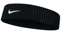 Frotka na głowę Nike Dri-Fit Reveal Headband - black/dark grey/white