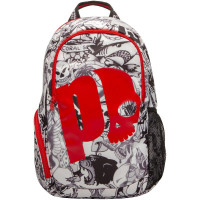 Plecak tenisowy Prince By Hydrogen Tattoo Backpack - black/white/red