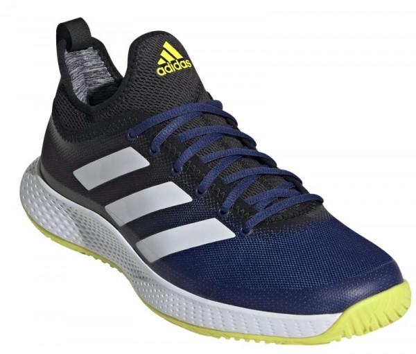 Meeste tennisetossud Adidas Defiant Generation M - victory blue/cloud white/acid yellow