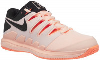Damskie buty tenisowe Nike WMNS Air Zoom Vapor X Clay - crimson tint/black