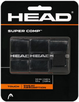 Head Super Comp (3 vnt.) - black