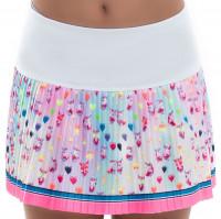 Suknja za djevojke Lucky in Love Novelty Print Animoji Love Pleated Skirt Girls - multicolor