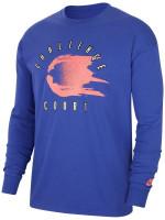 Męski T-Shirt tenisowy Nike Court Tee LS Challenge - light concord