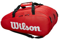 Teniso krepšys Wilson Tour 3 Comp - red