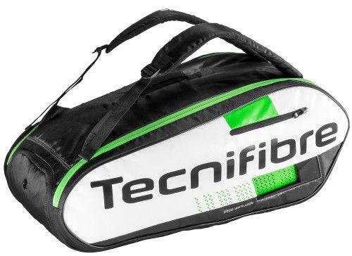 Tecnifibre Squash Green 9R - white/black/green