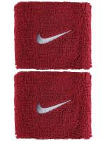 Nike Swoosh Wristbands - red crush/wolf grey