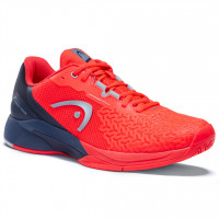Męskie buty tenisowe Head Revolt Pro 3.5 Men - neon red/dress blue