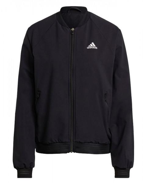 Teniso bluzonai moterims Adidas Woven Primeblue Jacket W - black/white