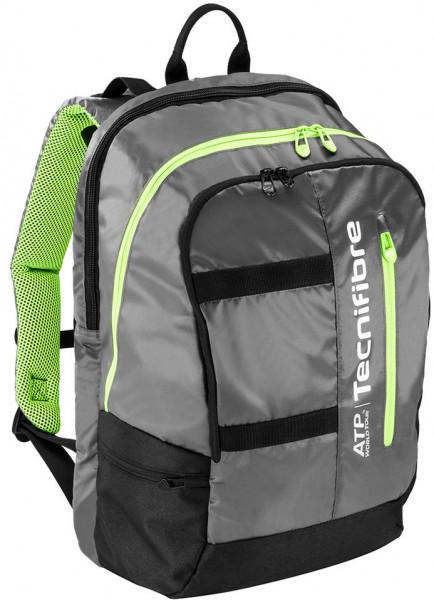 Plecak tenisowy Tecnifibre Tour Ergonomy ATP Backpack - black/grey/lime