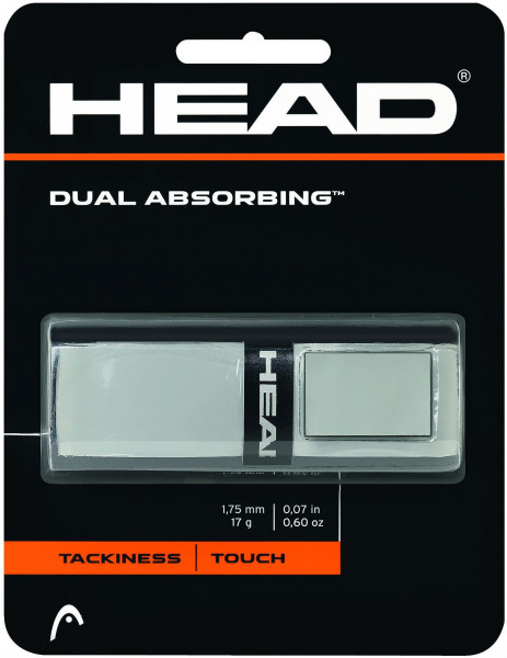 Head Dual Absorbing (1 szt.) - grey