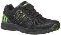 Męskie buty tenisowe Wilson Kaos 2.0 - black/ebony/gecko green