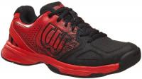 Juniorskie buty tenisowe Wilson Kaos Comp JR - radiant red/black/radiant red